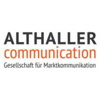 Logo:ALTHALLER communication GbR